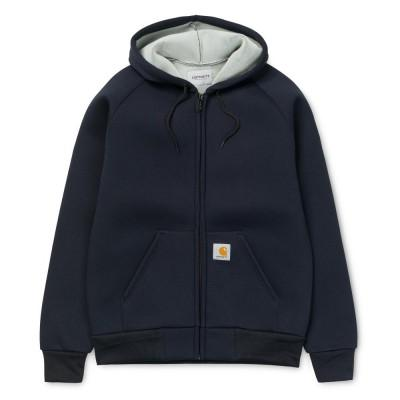 Carhartt Casaco Car-Lux Hooded Dark Grey Navy