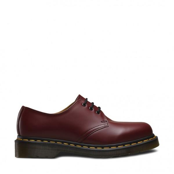 Dr. Martens Shoes 1461 Smooth Cherry Red