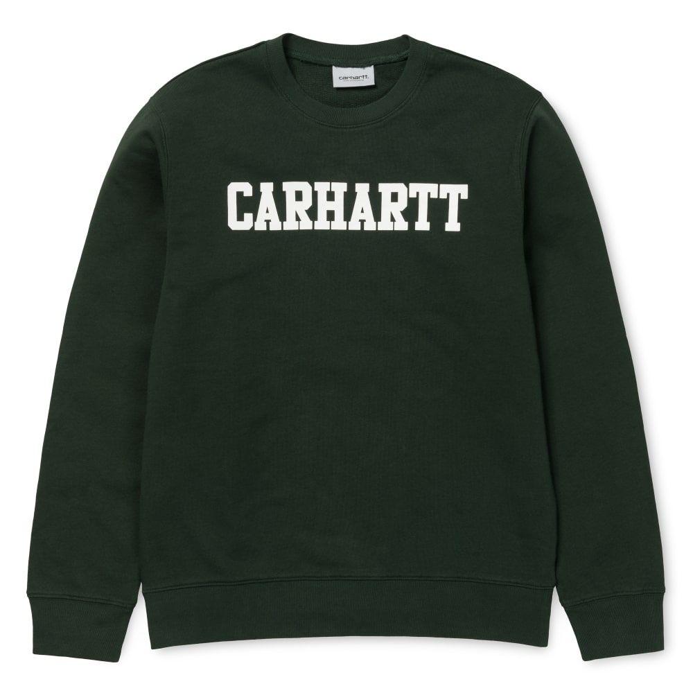 Carhartt College Sweatshirt Loden