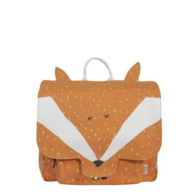 Trixie Mochila Satchel Mr Fox Beige
