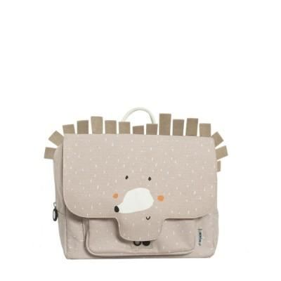 Trixie Mochila Satchel Mrs Hedgehog Beige