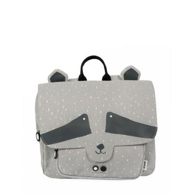 Trixie Mochila Satchel Mr Raccoon Beige