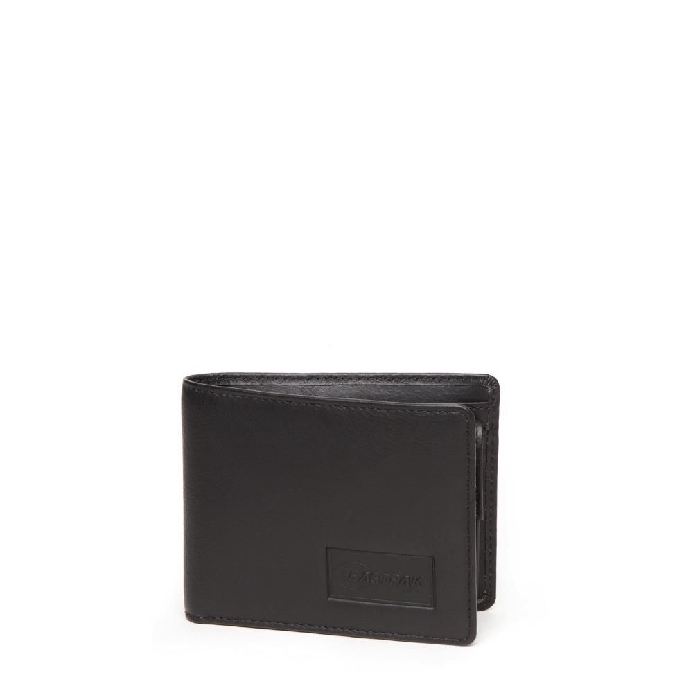 Eastpak Drew Wallet Black Ink Leather