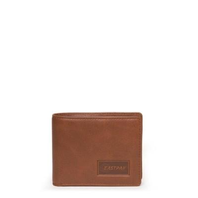 Eastpak Carteira Drew Brownie Leather