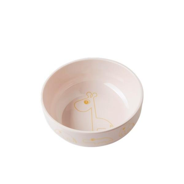Done by Deer Yummy Bowl Gold Pink
