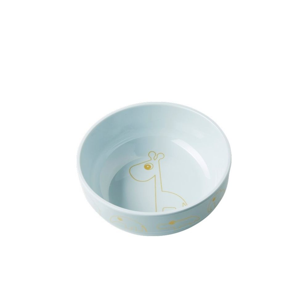 Done by Deer Yummy Bowl Gold Blue