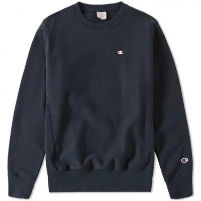 Champion Reverse Weave Sweatshirt Navy