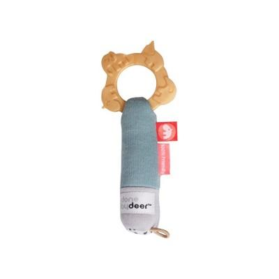 Done by Deer Tiny Teething Rattle Multi
