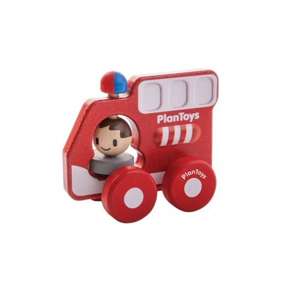 Plan Toys Carro Bombeiros