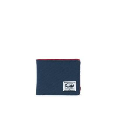 Herschel Carteira Roy+Coin Navy Red