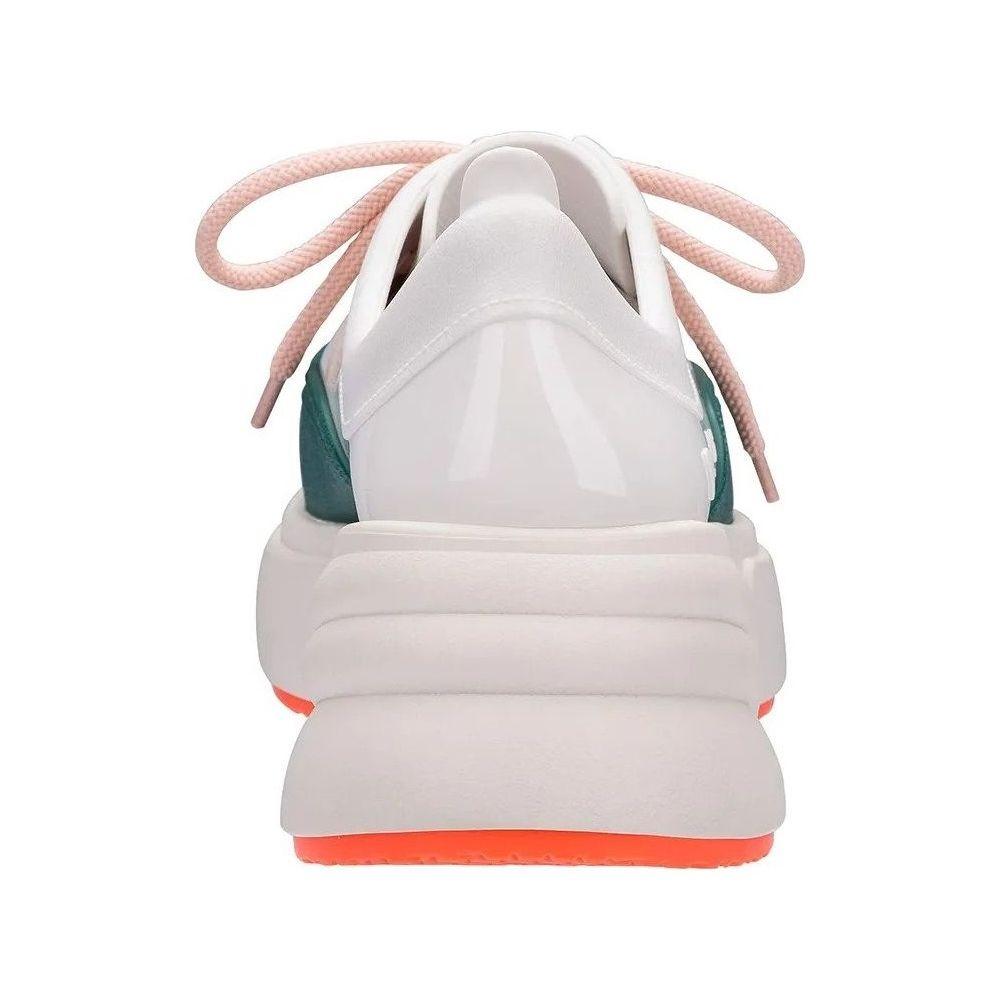Melissa Ugly Sneaker Beige White Green - Mau Feitio 986c9080aa691