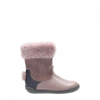Clarks Iva Time Dusty Pink