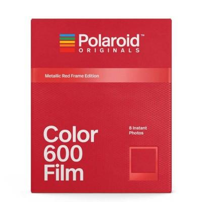 Polaroid Originals Color Film for 600 Metallic Red Frame Edition
