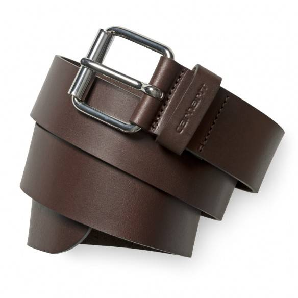 Carhartt Script Belt Dark Brown