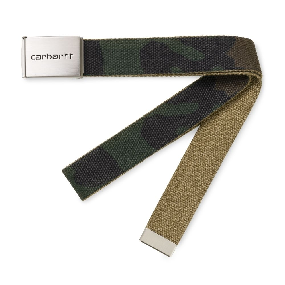 Carhartt Clip Belt Chrome Camo Laurel