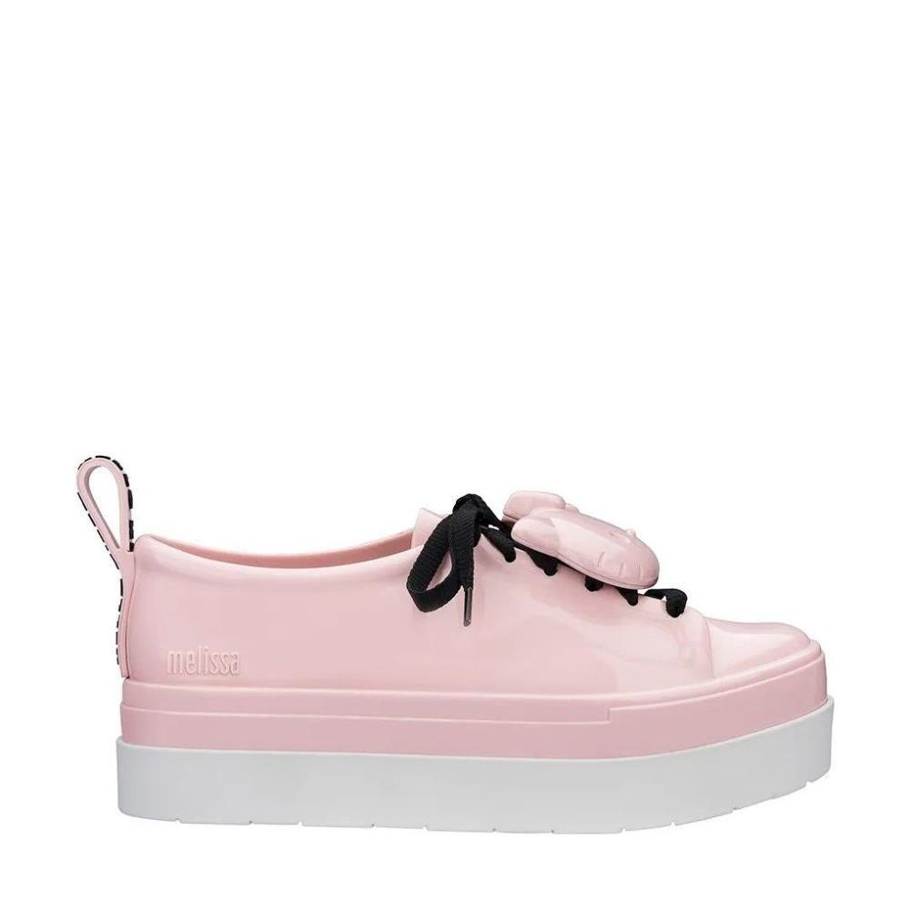 dcad7497fe0 Melissa Be + Hello Kitty Pink White Black - Mau Feitio
