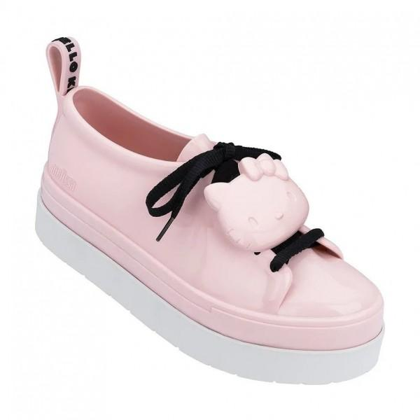 Melissa Be + Hello Kitty Pink White Black