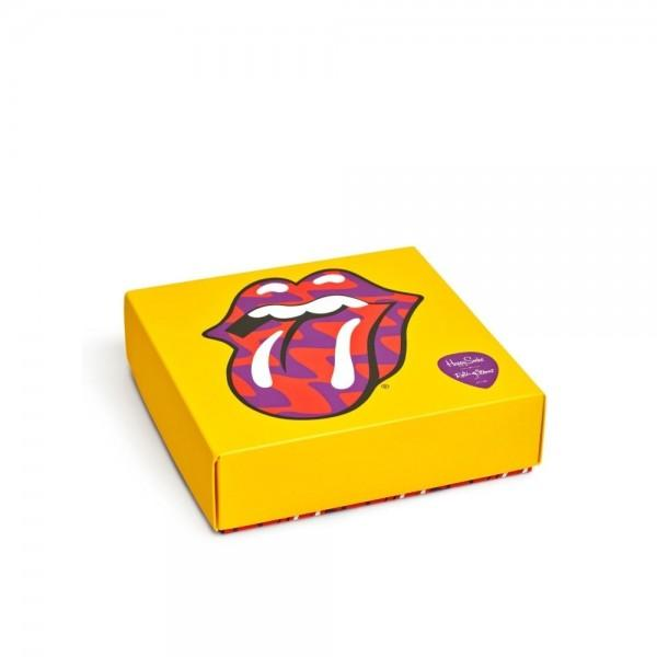 Happy Socks x Rolling Stones 3-Pair Gift Box