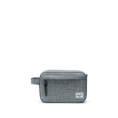 Herschel Chapter Travel Kit Raven Crosshatch