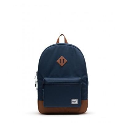 Herschel Mochila Heritage Youth XL Navy Saddle Brown