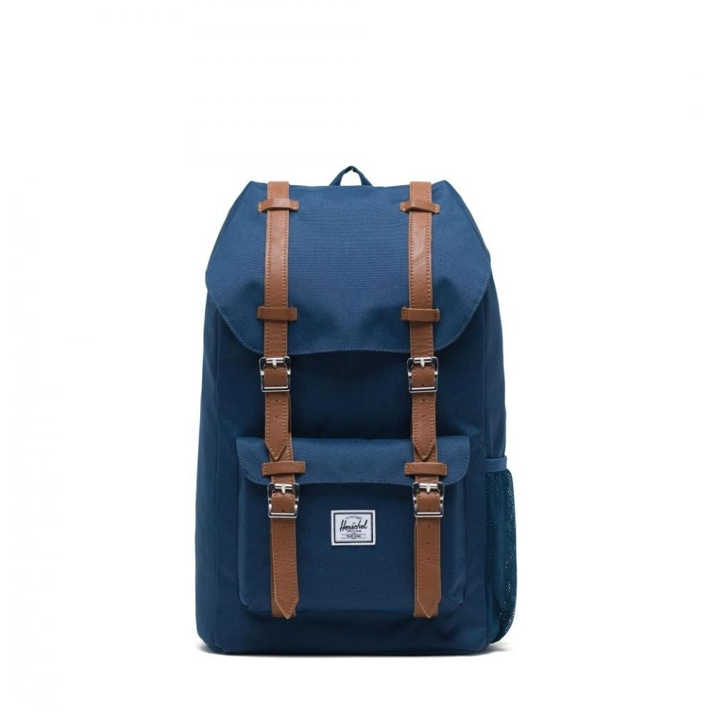 Herschel Backpack Little America Youth Navy Saddle Brown