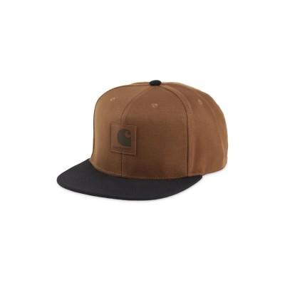 Carhartt Boné Logo Bi-Colored Hamilton Brown Black