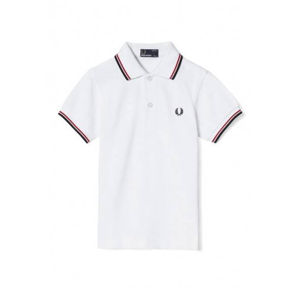 Fred Perry Kids Twin Tipped Shirt SY3600-748