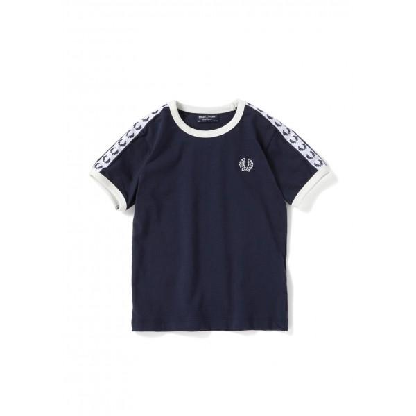554f13ba Fred Perry Kids Taped Ringer T-Shirt SY6347-584 - Mau Feitio