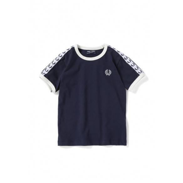 Fred Perry Kids Taped Ringer T-Shirt SY6347-584