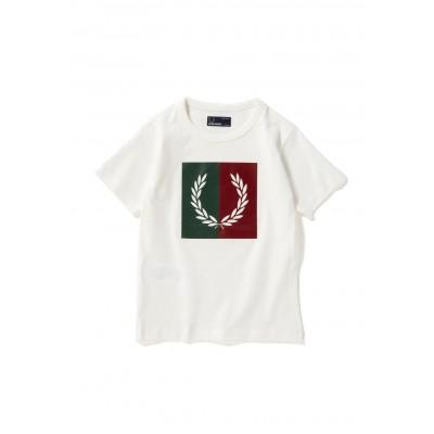 Fred Perry Kids Split Laurel Wreath T-Shirt SY5592-129
