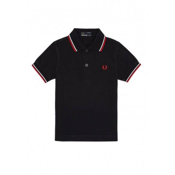 Fred Perry Kids Twin Tipped Shirt SY3600-471
