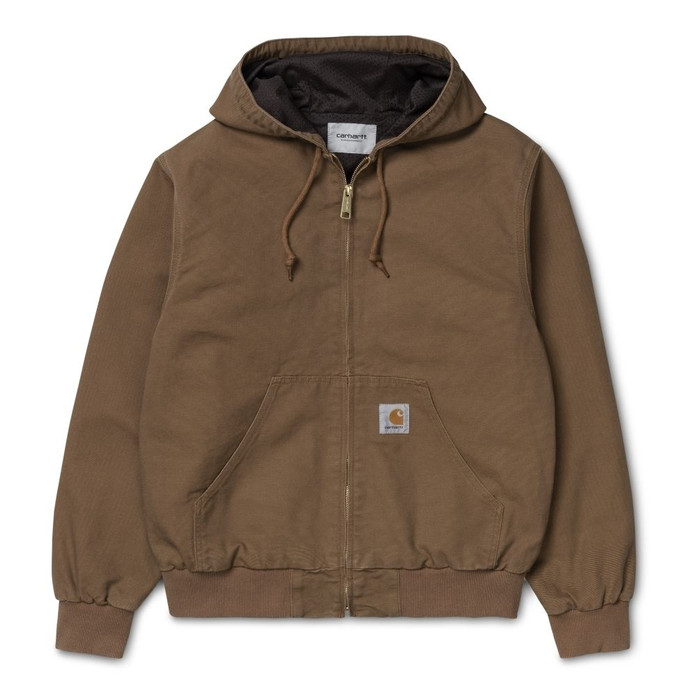 Carhartt Casaco Active Hamilton Brown Rinsed