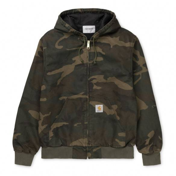 Carhartt Active Jacket Camo Laurel Rinsed