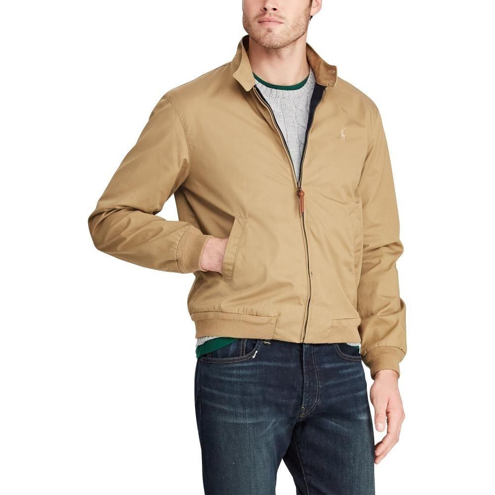 d7c3cc6e9 Polo Ralph Lauren Cotton Twill Jacket Luxury Beige - Mau Feitio