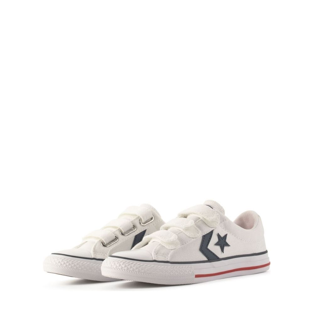 Converse Star Player Mid Leather Kids Sneakers Shoes