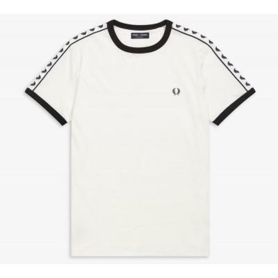 Fred Perry Sports Authentic Taped Ringer T-Shirt M6347-808