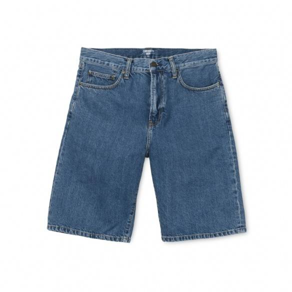 Carhartt Pontiac Short Blue Stone Washed