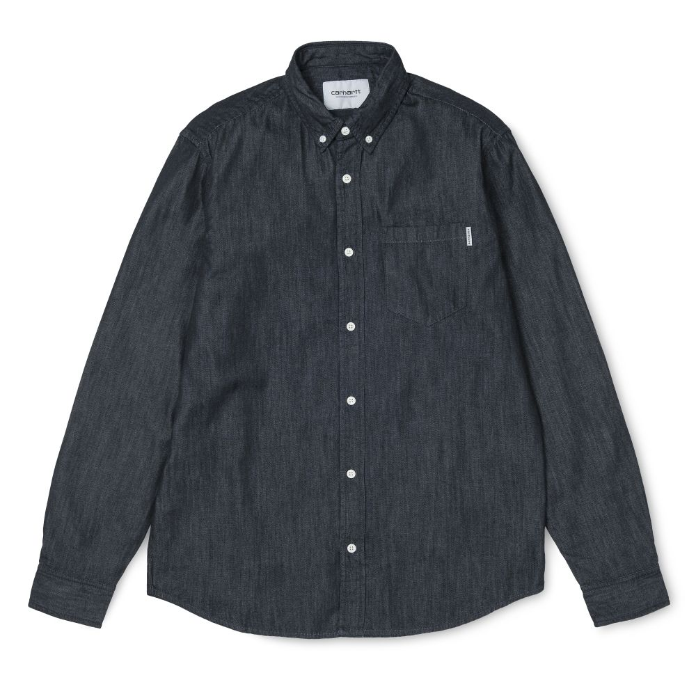 Carhartt Camisa Civil Blue Rinsed