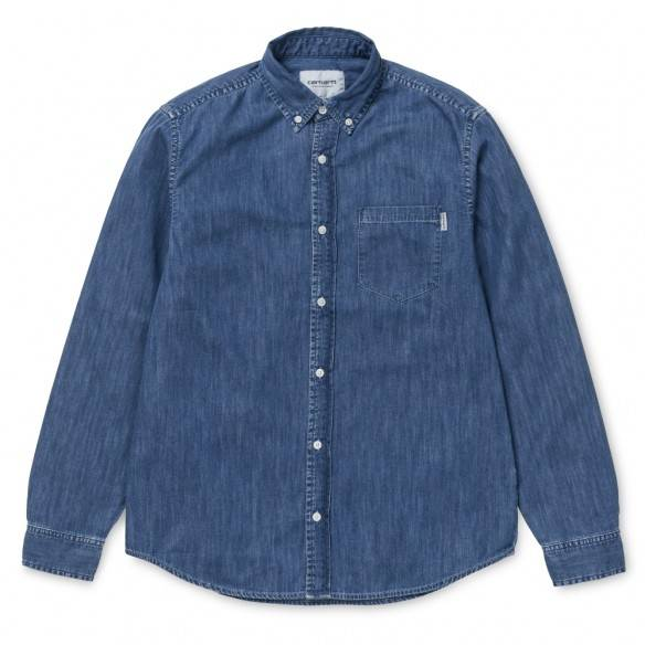 Carhartt Civil Shirt Blue Stone Washed