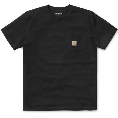 Carhartt T-Shirt Pocket Black