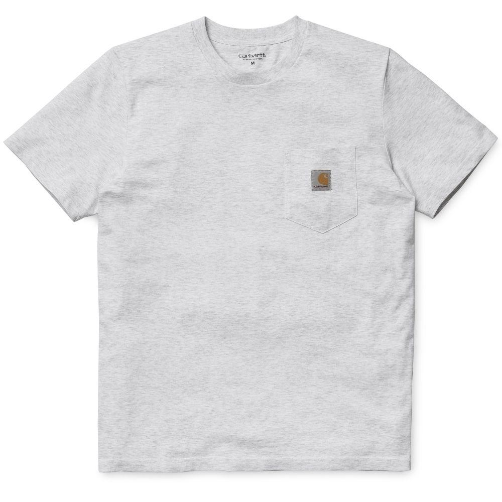 Carhartt T-Shirt Pocket Ash Heather