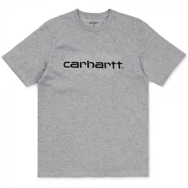 Carhartt Script T-Shirt Grey Heather...