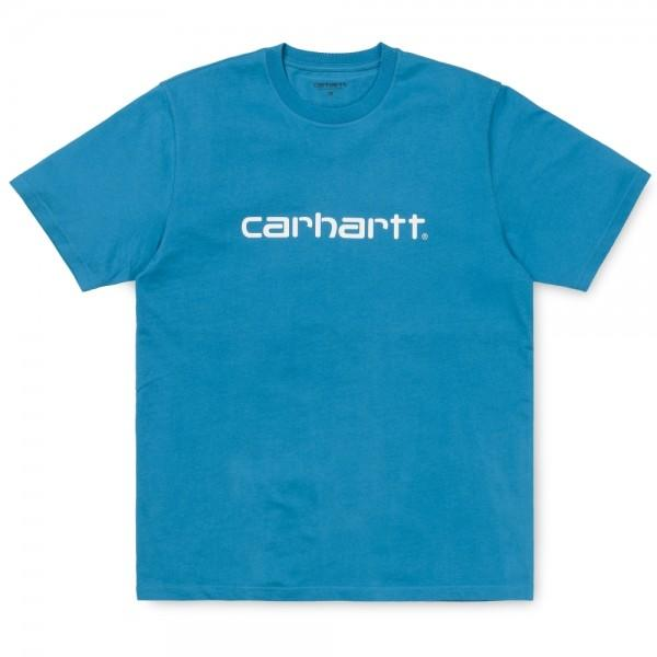 Carhartt T-Shirt Script Pizol White