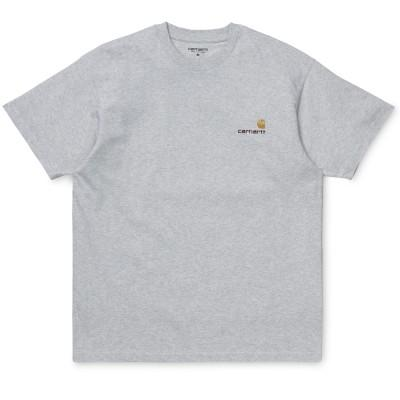 Carhartt American Script T-Shirt Ash Heather