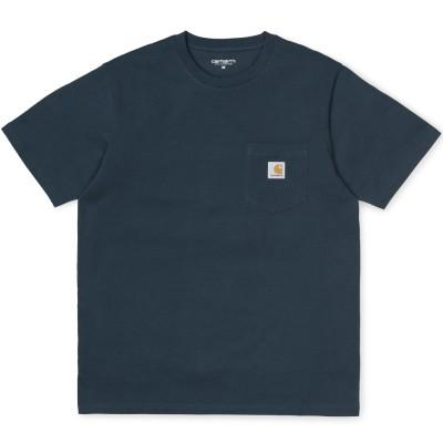Carhartt T-Shirt Pocket Duck Blue