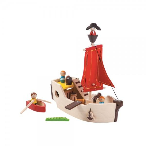 Plan Toys Navio Pirata