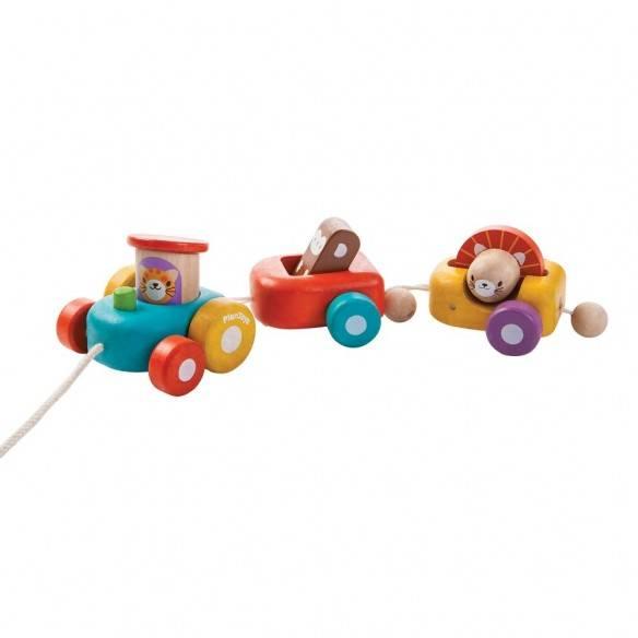 Plan Toys Comboio Feliz
