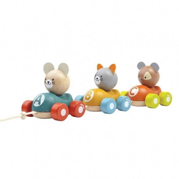 Plan Toys Comboio dos Animais