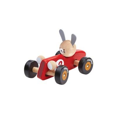 Plan Toys Carro de Corrida Coelho