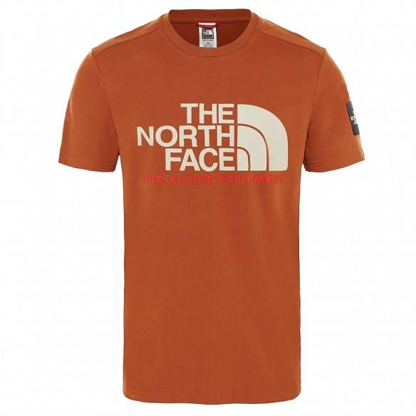 The North Face Fine Alpine T-Shirt Caramel Cafe